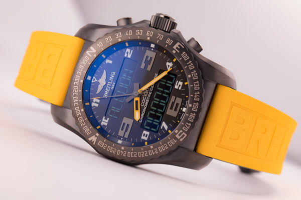 Breitling Cockpit B50 Yellow Edition - The Luxury Well