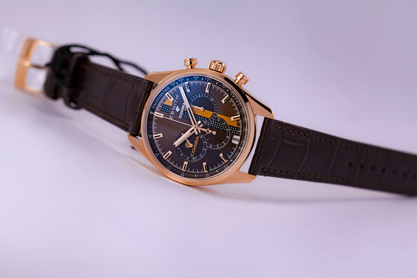 Zenith El Primero Legend of Cohiba Chronograph 18kt Gold Edition - The Luxury Well