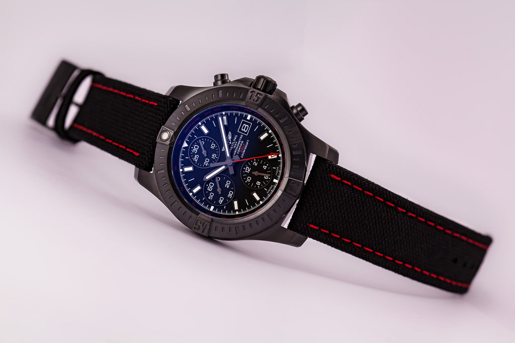 Breitling Colt Automatic Chronograph Blacksteel Limited Edition Red US