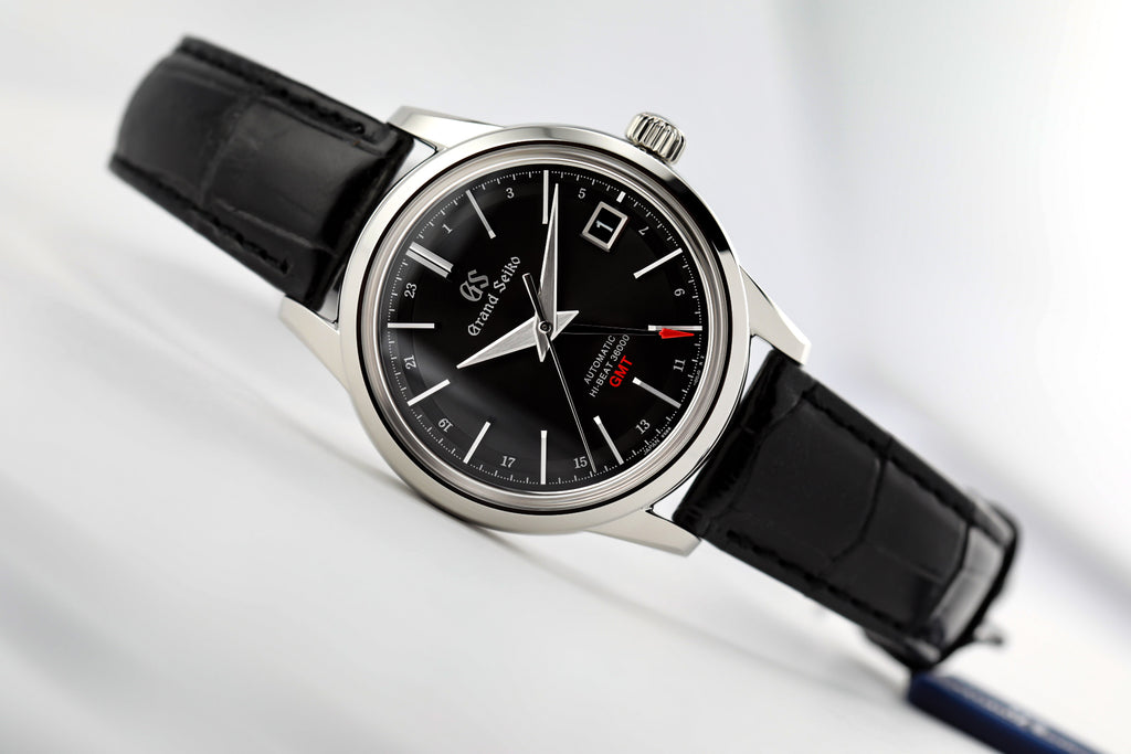 Seiko Grand Seiko Automatic Hi Beat GMT Black SBGJ219