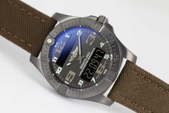 Breitling Aerospace Evo Night Mission Black - The Luxury Well