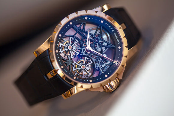 Roger Dubuis Double Flying Tourbillon Excalibur Limited Edition Ref. RDDBEX0283 - The Luxury Well