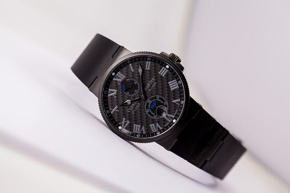 Ulysse Nardin Maxi Marine Chronometer Carbon Limited Edition of 250  Ref. 263-66LE-3C/4 - The Luxury Well