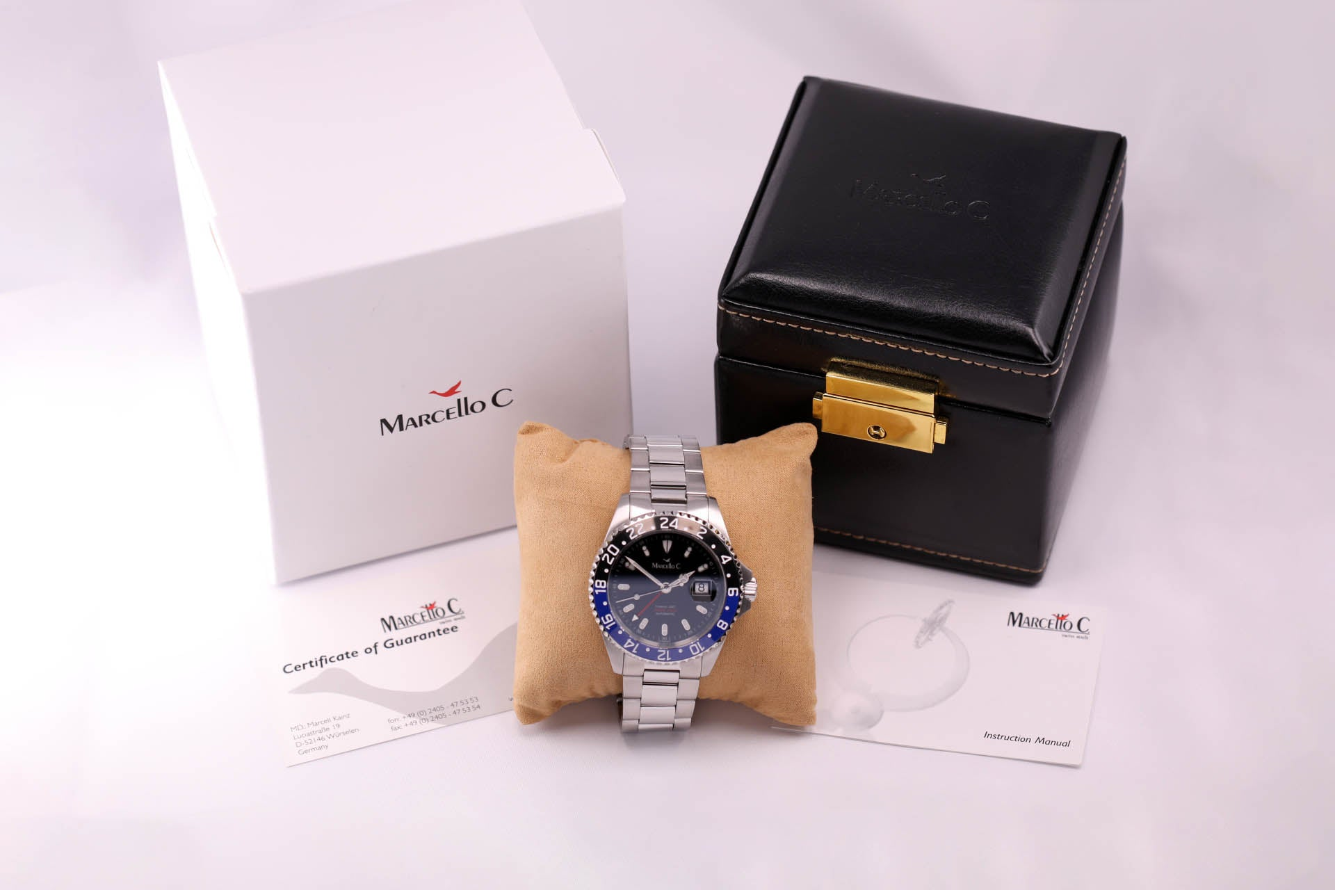 Marcello C. Tridente GMT Blue/Black Batman Automatic
