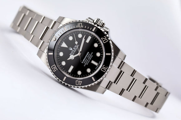 Rolex Submariner 114060 - The Iconic Submariner No Date - The Luxury Well