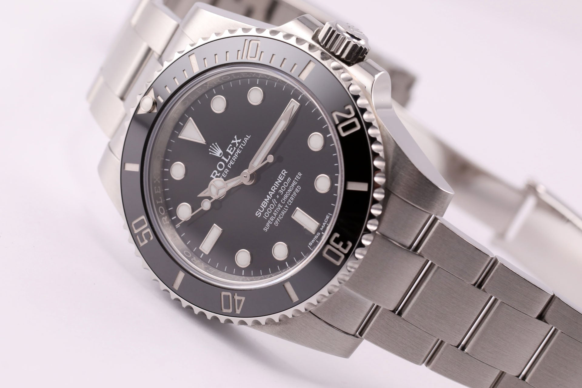 Rolex Submariner 114060 - The Iconic Submariner No Date