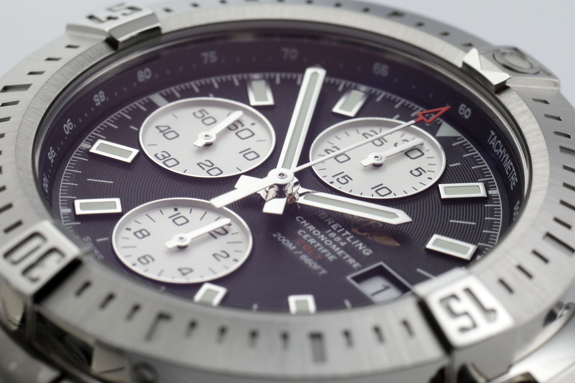 Breitling Colt Automatic Chronograph Steel/Steel