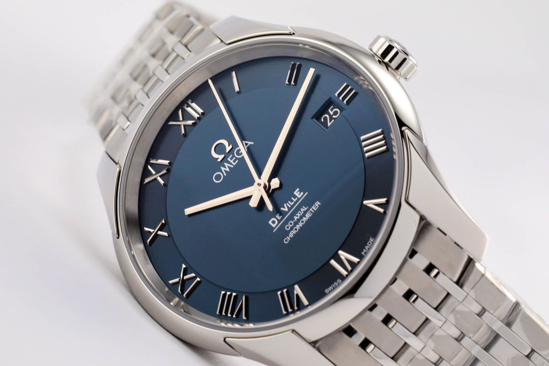 Omega De Ville Co-Axial Automatic Chronometer Blue Dial 41mm