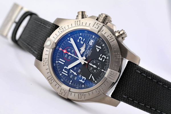 Breitling Avenger Bandit Titanium Chronograph - The Luxury Well