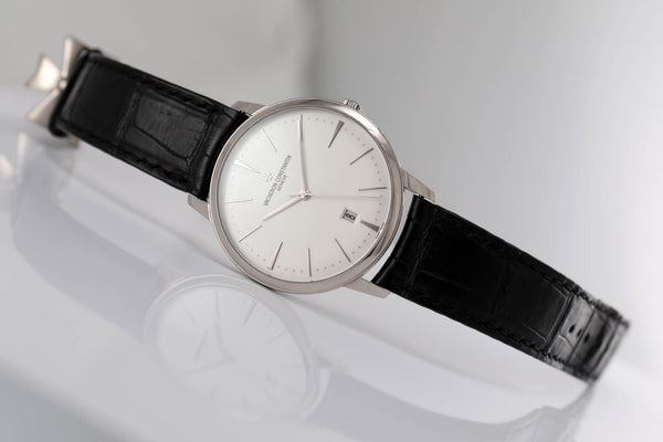 Vacheron Constantin Patrimony White Gold Automatic (full set) - The Luxury Well