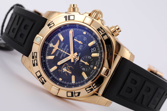 Breitling Limited Edition of 50 Wayne Gretzky 18kt Chronomat 44 - The Luxury Well