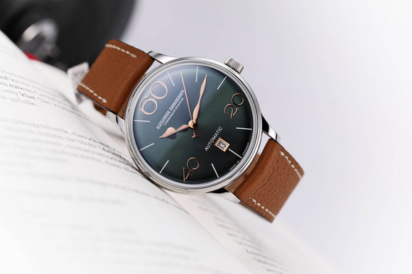 Alexander Shorokhoff Sixtythree Steel Green - The Luxury Well