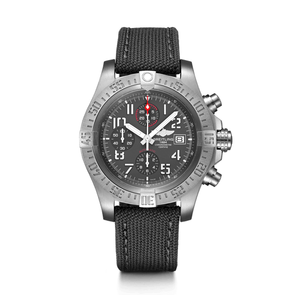 Breitling Avenger Bandit Chronograph Titanium Grey - The Luxury Well