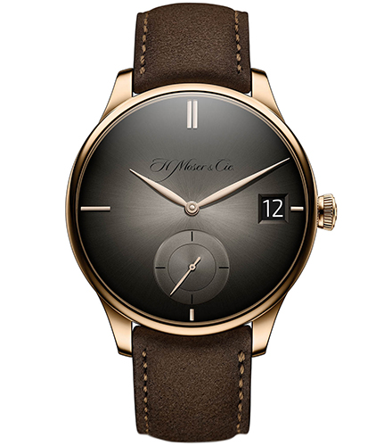 H.Moser & Cie. Venturer Big Date Red Gold, Fumé Dial - The Luxury Well