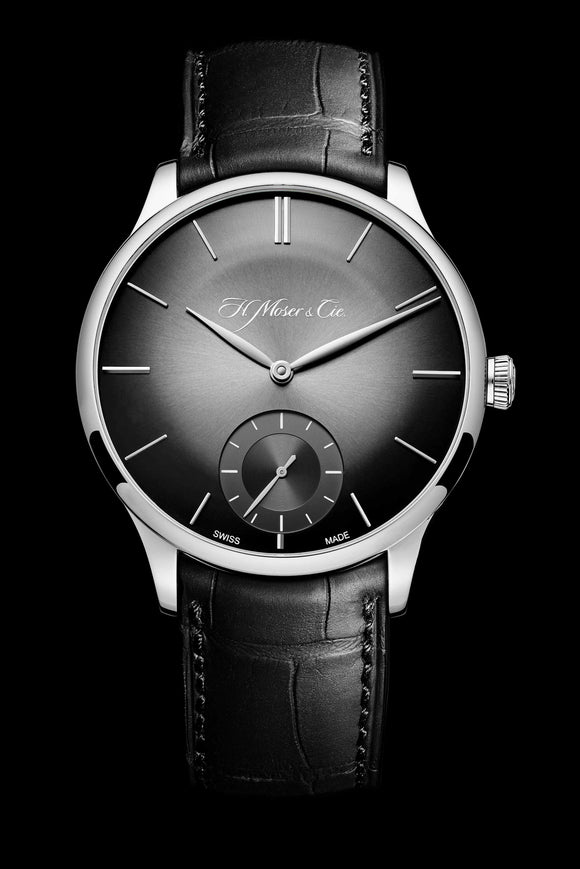 H.Moser & Cie. Venturer Small Seconds, White Gold, Ardoise Fumé Dial - The Luxury Well