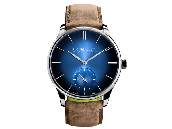 H.Moser & Cie. Venturer Small Seconds XL White Gold, Blue Dial - The Luxury Well