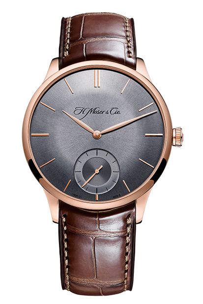 H.Moser & Cie. Venturer Small Seconds Red Gold, Fumé Dial - The Luxury Well