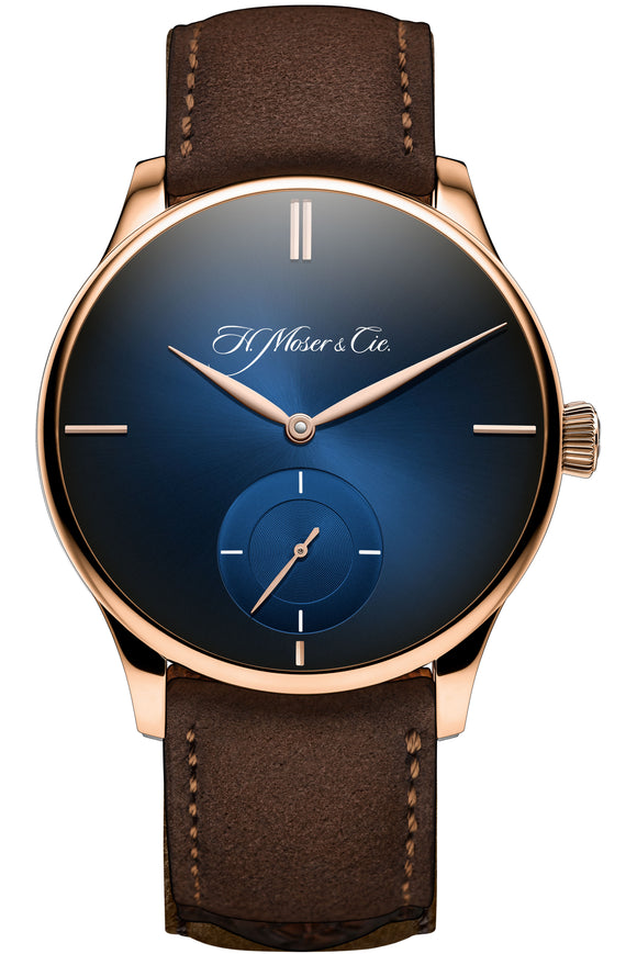 H.Moser & Cie. Venturer Small Seconds XL Red Gold, Midnight Blue Dial - The Luxury Well