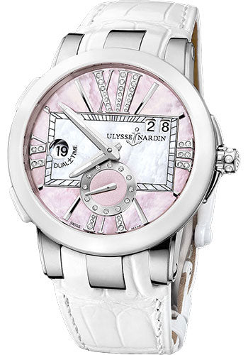 Ulysse Nardin Executive Dual Time Lady - The Luxury Well