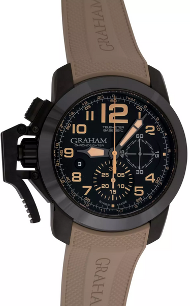 Graham Chronofighter Chronograph Automatic Black Dial - The Luxury Well