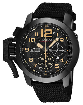 Graham Chronofighter Oversize Automatic - The Luxury Well