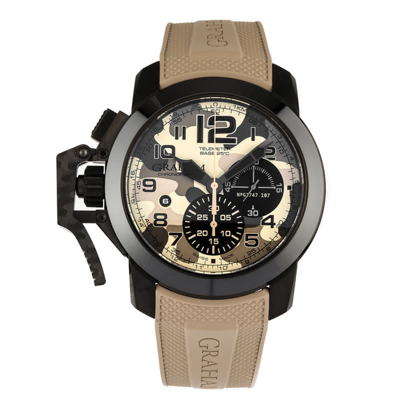 Graham Oversize Black Arrow Chronograph Automatic - The Luxury Well