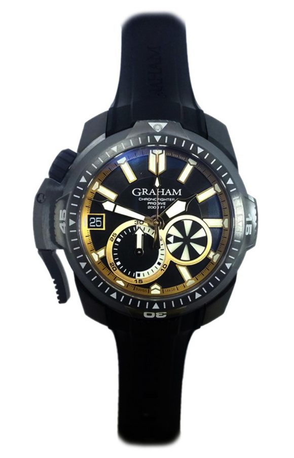 Graham Chronofighter ProDive - The Luxury Well