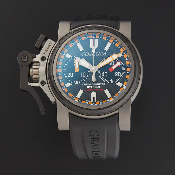 Graham Chronofighter Oversize - The Luxury Well