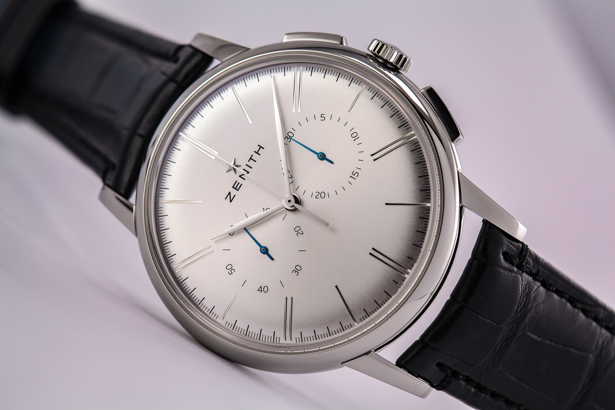 Zenith Elite Chronograph Classic Silver Dial