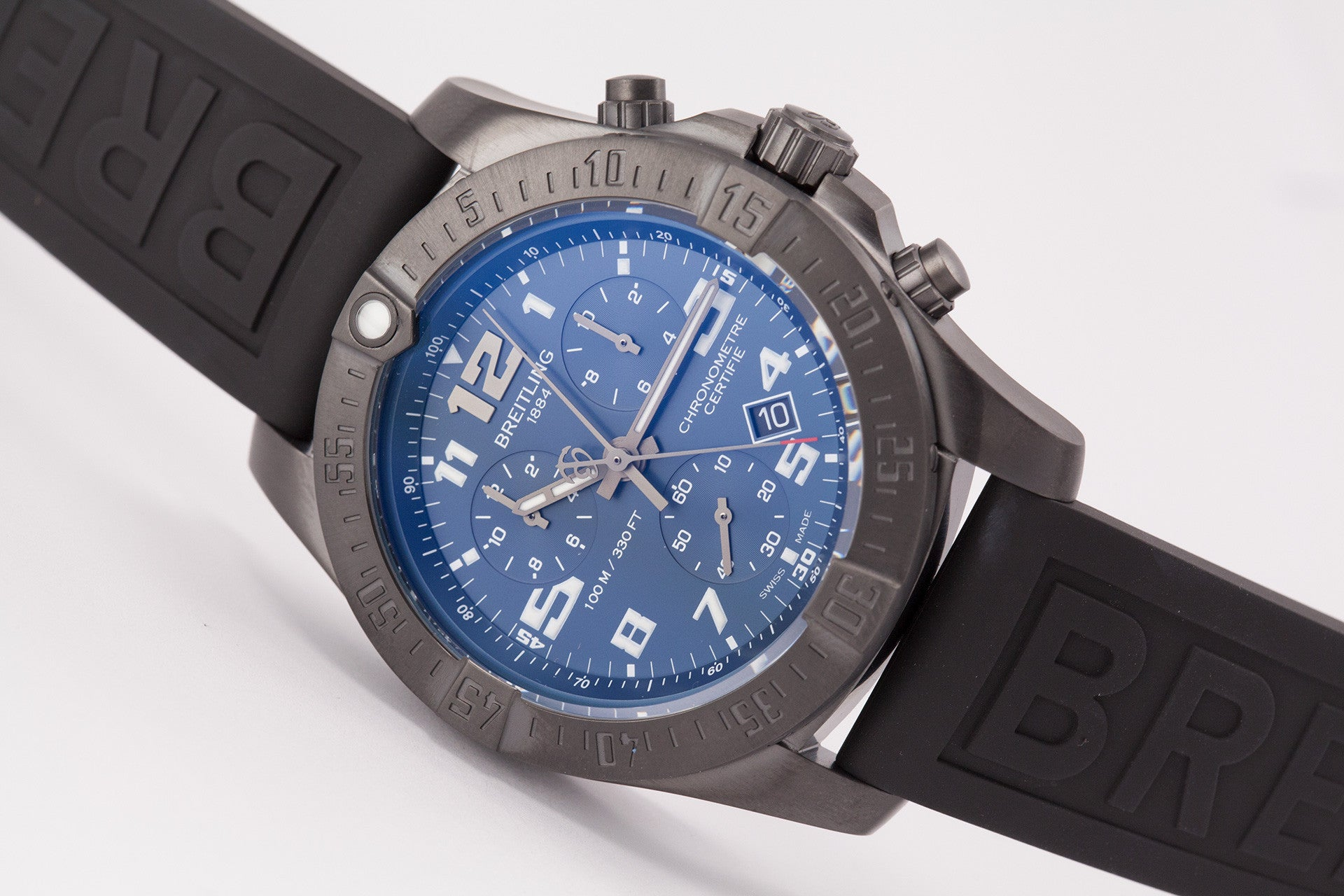Breitling Chronospace Evo Night Mission Quartz Chronograph