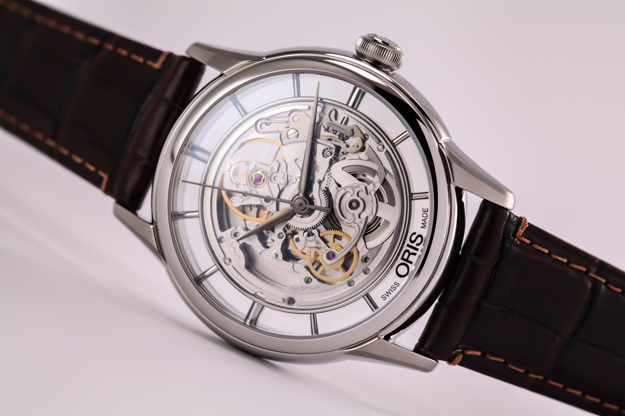 Oris Artelier Translucent Skeleton Steel (New Model)
