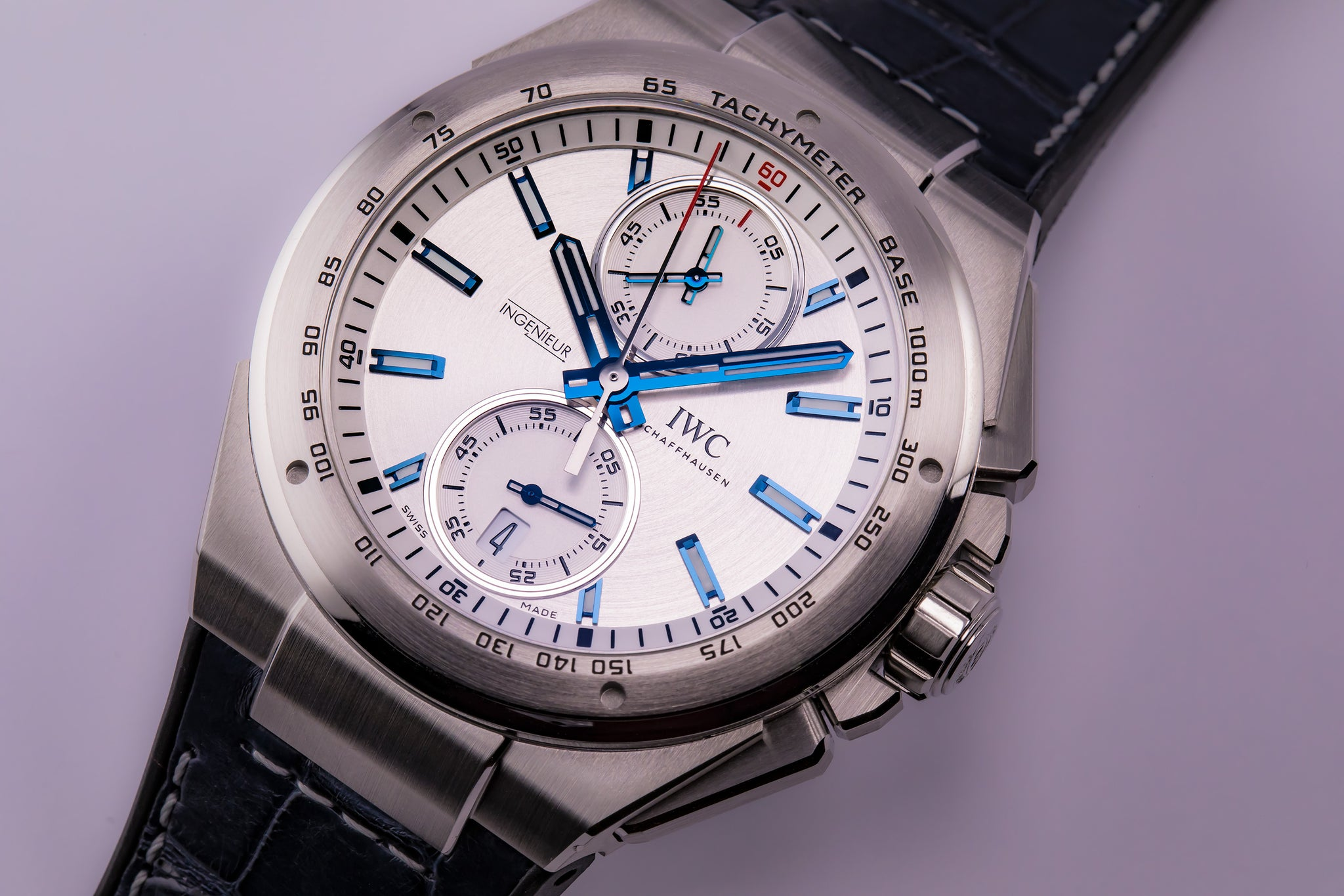 IWC Ingenieur Chronograph Racer Fly-Back Silver Dial