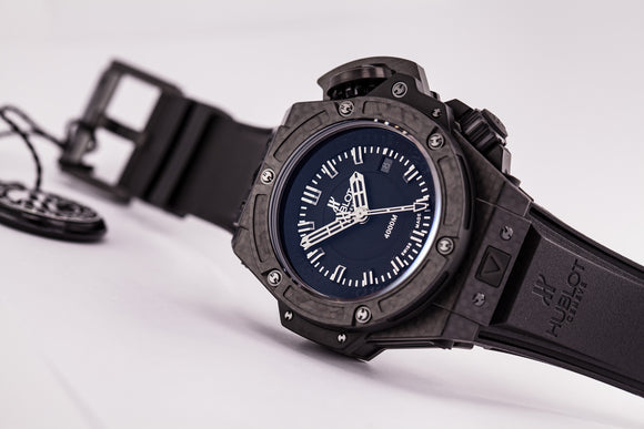 Hublot Big Bang King Power Oceanographic Carbon Limited Edition - The Luxury Well