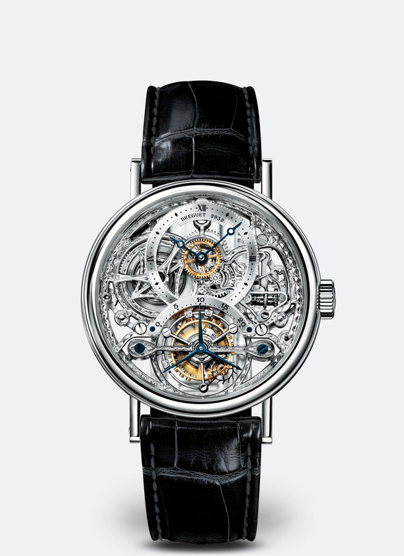Breguet Classique Complications 3355 Platinum Silver Dial - The Luxury Well