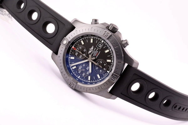Breitling Colt Chronograph Automatic Blacksteel Ocean Racer II - The Luxury Well
