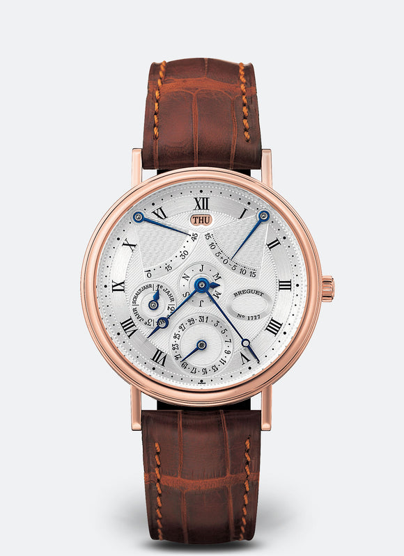 Breguet Perpetual Calendar Equation of Time 18kt Rose Gold - The Luxury Well