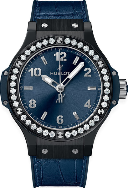 Hublot Big Bang Blue Diamonds 38mm