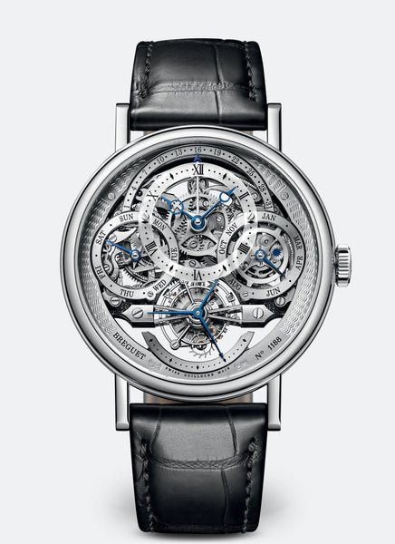 Breguet Classique Complications 3795 Platinum Silver Dial - The Luxury Well