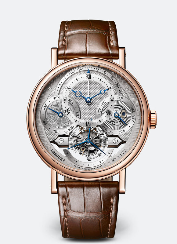 Breguet Classique Complications 3797 18kt Rose Gold Silver Dial - The Luxury Well