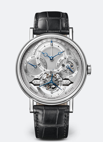 Breguet Classique Complications 3797 Platinum Silver Dial - The Luxury Well