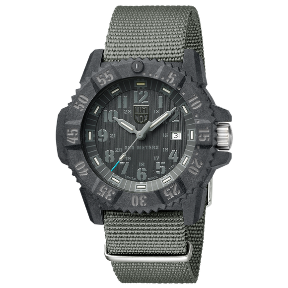 Luminox Master Carbon Seal Grey Set Ref. 3802.GO.SET - The Luxury Well