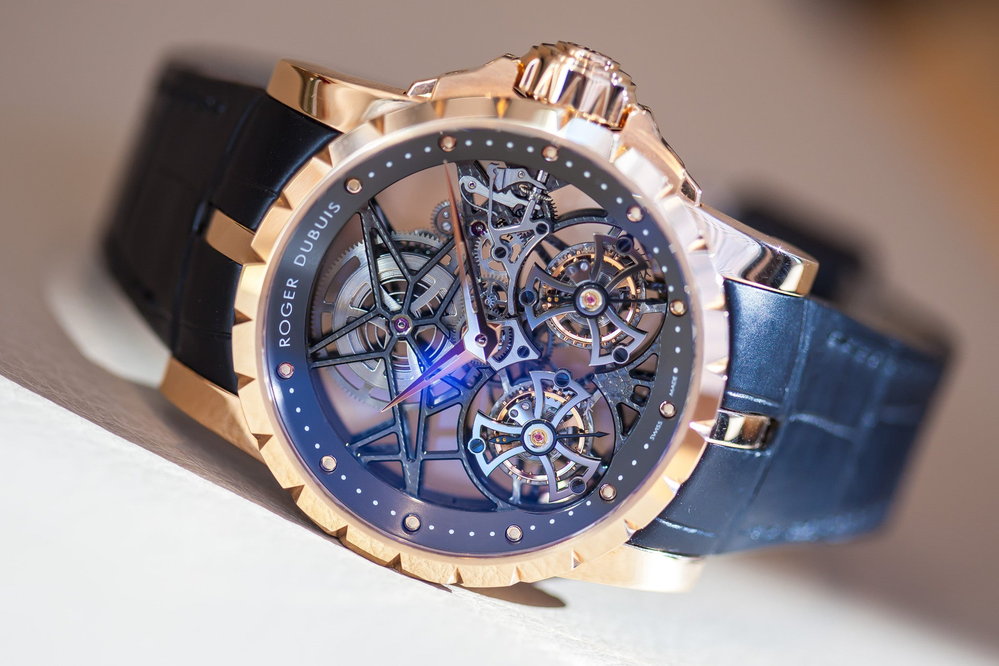 Roger Dubuis Double Flying Tourbillon Excalibur Limited Edition Ref. RDDBEX0283