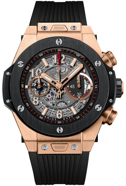 Hublot Big Bang Unico King Gold Ceramic 45mm - The Luxury Well