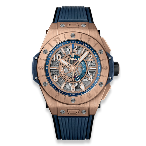 Hublot Big Bang Unico GMT King Gold 45mm - The Luxury Well