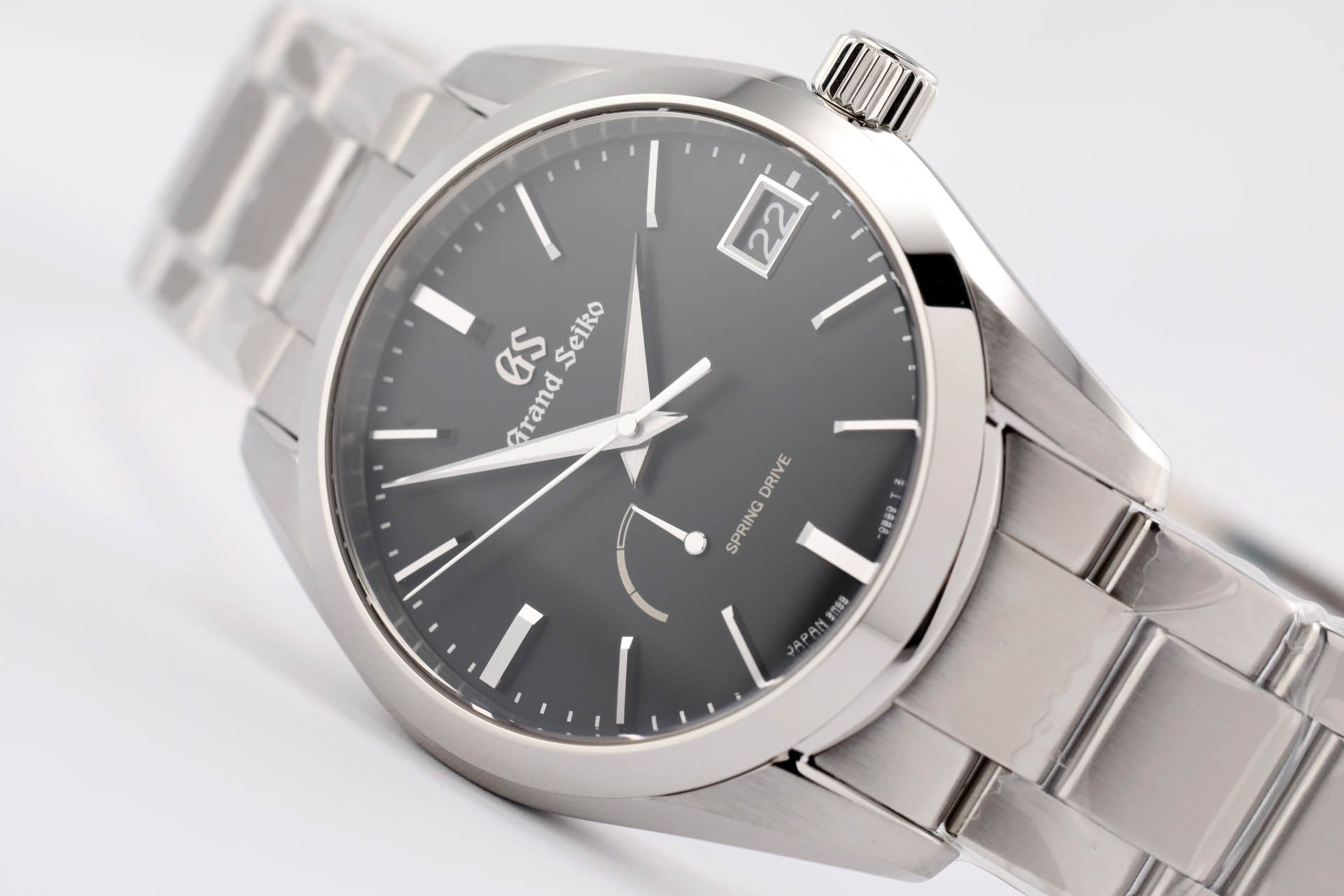 Seiko Grand Seiko Spring Drive Black (New Model)