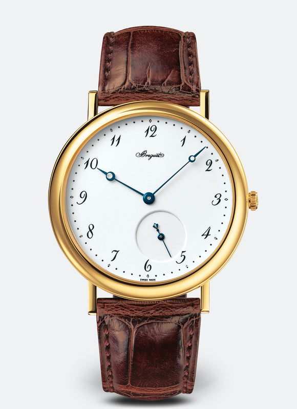 Breguet Classique 5140 Automatic 18kt Yellow Gold White Dial - The Luxury Well