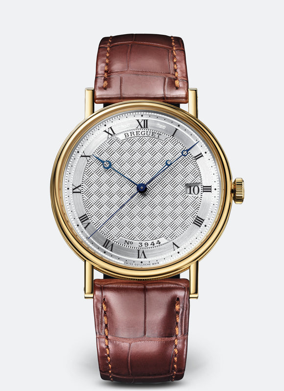 Breguet Classique 18kt Yellow Gold Silvered Gold Dial - The Luxury Well