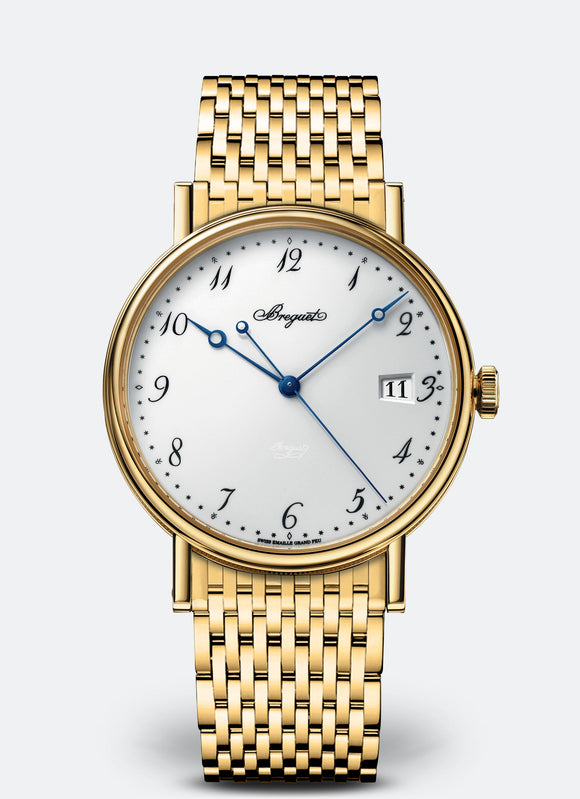 Breguet Classique 18kt Yellow Gold White Dial - The Luxury Well