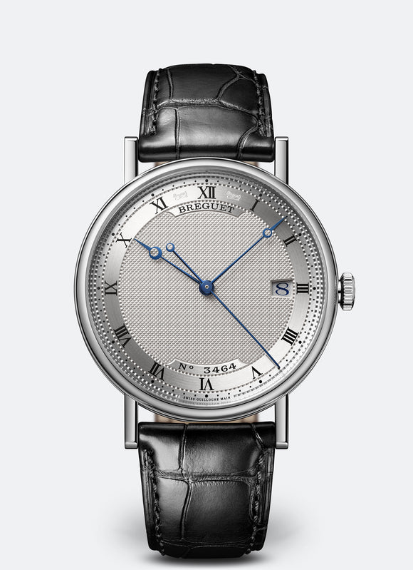 Breguet Classique 18kt White Gold Silvered Gold Dial - The Luxury Well