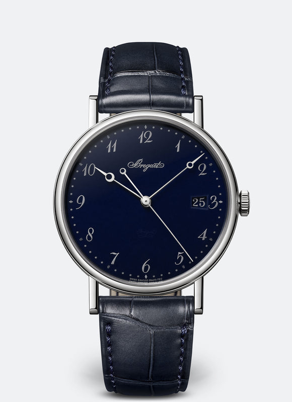Breguet Classique 18kt White Gold Blue Dial - The Luxury Well